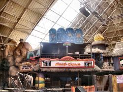 inside the pyramid fantasy island Ingoldmells Lincolnshire.