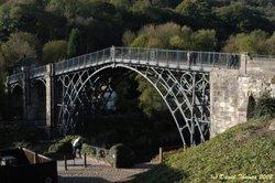Iron Bridge (D100) - Taken By David Thomas Early Feb 2002