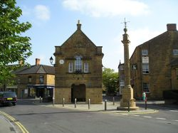 Market cross, Martock, Somerset. Erected in 1741