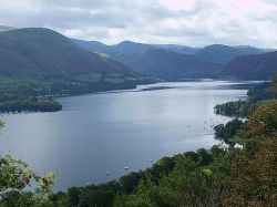Looking Down To Howtown, Ullswater