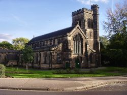 Beeston parish church, Beeston, Nottinghamshire.