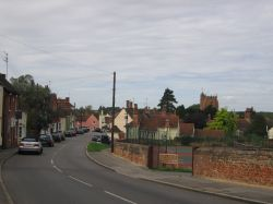 Castle Hedingham village, Essex