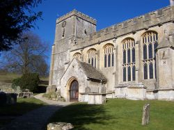 St Andrew's at Chedworth. Photo copyright: Margaret Dickinson