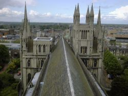 Peterborough from the Cathedral Roof