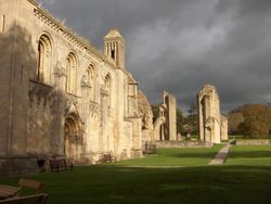 Glastonbury Abbey, Fall 2006