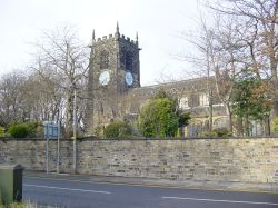 ALL HALLOWS CHURCH, ALMONDBURY, HUDDERSFIELD