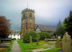 Parish Church, Lower Peover, Cheshire.