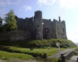 Laugharne Castle, Carmarthenshire, Wales