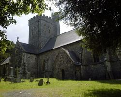 St Martin's Church, Laugharne, Carmarthenshire, Wales