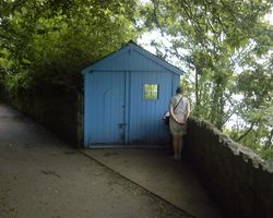 Dylan Thomas's Writing Shed, Laugharne, Carmarthenshire, Wales