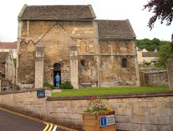 Saxon church in Bradford-on-Avon.