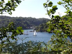 view of Fort Charles in Salcombe England 2006