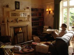 Inside the Wight Home. - Heriott Museum