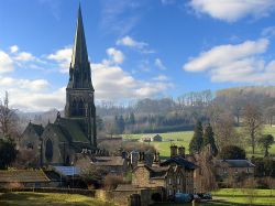 Edensor, Derbyshire Wallpaper