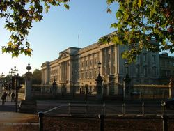 A picture of Buckingham Palace