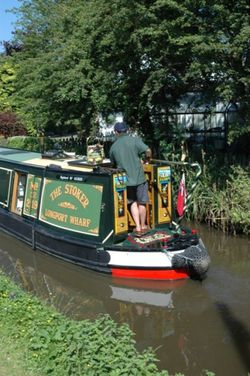 Trent and Mersey Canal. Alrewas, Staffordshire