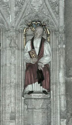Archbishop Langley, Ripon Cathedral, North Yorkshire