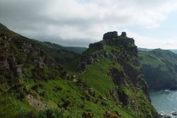 Valley of rocks near Lynton, Devon