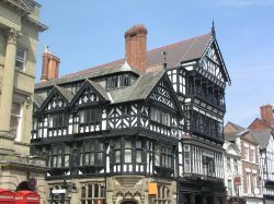 'Black and white' in Chester