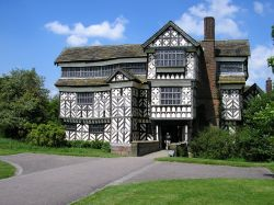 Little Moreton Hall, National Trust property, Congleton, Cheshire.