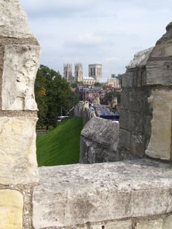 York Minster from City Walls, York