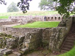 Bathhouse, Roman Ruins, Chesters Roman Fort, Northumberland