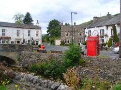 Kettlewell Village, Wharfedale, Yorkshire Dales National Park, North Yorkshire.