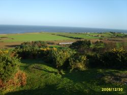 View looking North West from the top of Incleborough Hill, East Runton, Norfolk.