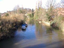 River Derwent, Malton, North Yorkshire.