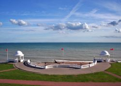 A view from the DeLaWarre Pavillion, Bexhill, East Sussex.