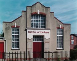 Salvation Army, Church Street, Derby, Derbyshire.
