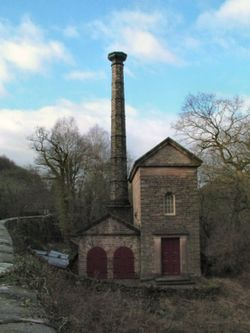 Pump House, Cromford Canal, Cromford, Derbyshire.