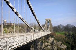Clifton Suspension Bridge, looking towards Clifton.