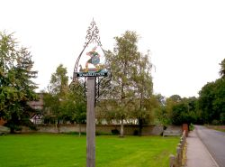 Village Green, Somerleyton, Suffolk.
