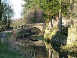 Cromford Canal, Whatstandwell, Derbyshire