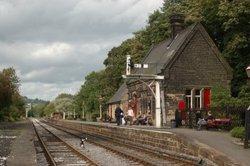Darley Dale Station, Darley Dale Peak Railway, Derbyshire.