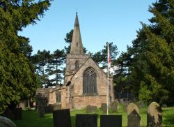 Parish Church, Denby, Derbyshire.