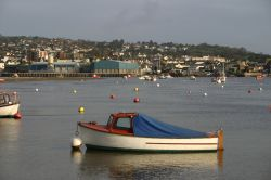 Boats on the River Teign, Shaldon, Devon.