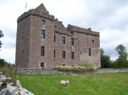 Huntingtower Castle, Perth, Scotland