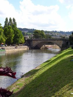 River Avon, Bath, Somerset.