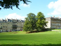 Near Royal Crescent, Bath, Somerset.