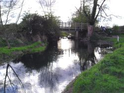 The River Thames at Cricklade, Wiltshire