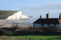 Seven Sisters from Cuckmere Haven, East Sussex.