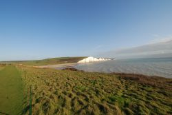 Seven Sisters Country Park, Cuckmere Haven, from Seaford Head.