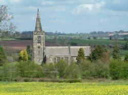 All Saints Church, Mackworth, Derbyshire.