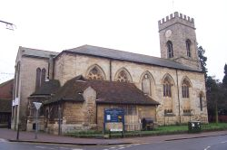 Church in Stony Stratford, Buckinghamshire.