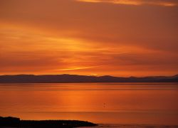 Morecambe Bay Sunset, Lancashire.