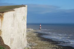 Beachy Head Lighthouse, Eastbourne, East Sussex.