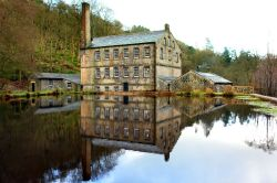 Gibson Mill in Hardcastle Crags, Hebden Bridge, West Yorks.