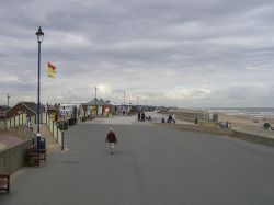 The beautiful main promenade, Sutton on Sea, Lincolnshire.